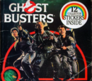 Ghostbusters... Featuring the Ugly Little Spud (sticker book)