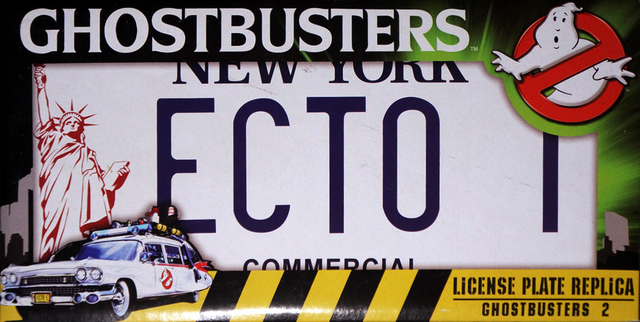 File:DiamondSelectECTO1LicensePlateReplicaforGhostbusters2front.png
