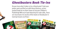 Ghostbusters related print by Simon & Schuster