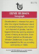 GB2 Topps 75th Ernie Hudson Diamond Card2
