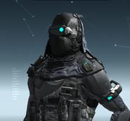 L3R Ballistic Mask PN Scan