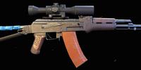 His AK-47