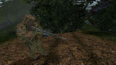 Ghost sniper m82a1