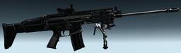 Mk 16-H SV BLK art