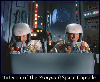 Interior of the Scorpio 6 Space Capsule