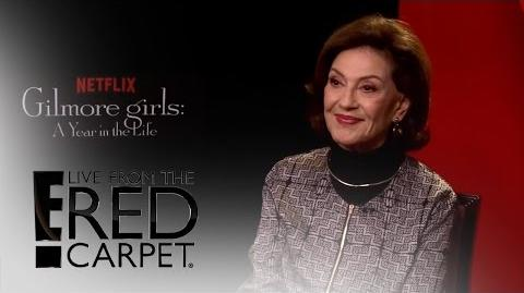 """Kelly Bishop Spills on """"Gilmore Girls A Year in the Life"""" E! Live from the Red Carpet"""