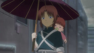 Young Kamui and Baby Kagura Episode 325