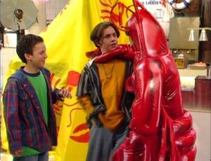 Cory & Shawn Meet Larry The Lobster