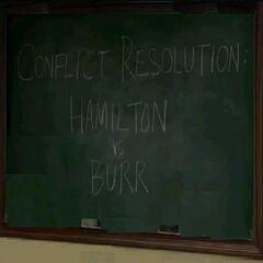 Conflict Resolution:Hamilton Vs, Burr (<a href=