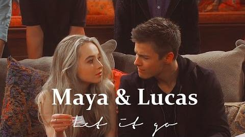 Maya and Lucas Let it go