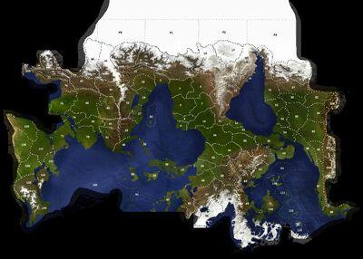 Empire World Map 440