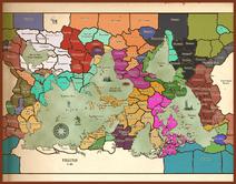 Empire Political World Map 535