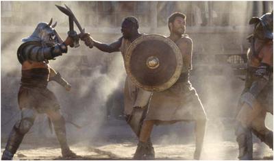 Mock Gladiator Match
