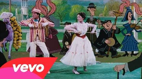 "Julie Andrews, Dick Van Dyke - Supercalifragilisticexpialidocious (from ""Mary Poppins"")"