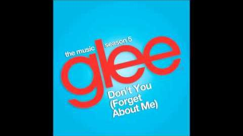Glee - don't you (forget about me)