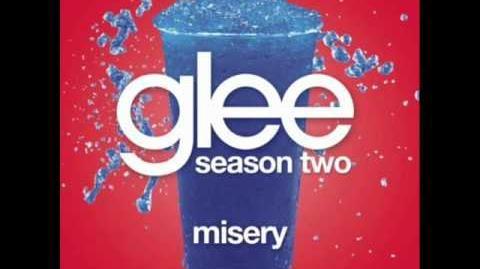 Glee - Misery (W LYRICS)