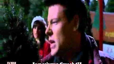Glee - Rachel & Finn-Last Christmas HD.wmv