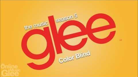 Glee - Color Blind FULL HD STUDIO