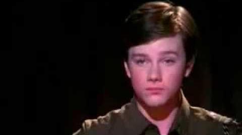 Glee Mr Cellophane Music Video KURT