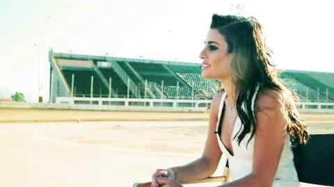 Behind-the-scenes of Lea Michele's cover shoot for Elle magazine