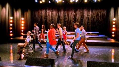 "Full Performance of ""For the Longest Time"" from ""Lights Out"" GLEE"