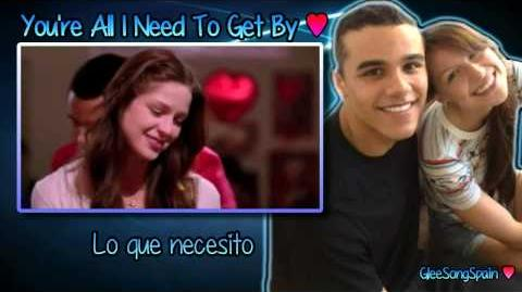 Glee - You're All I Need To Get By Traducida Vídeo