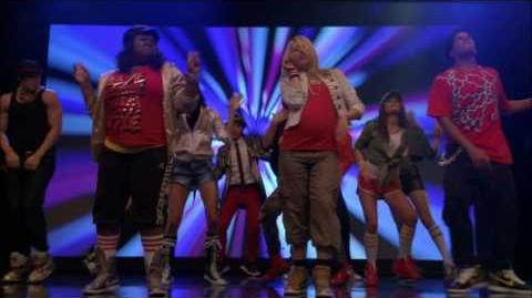 GLEE - Give Up The Funk (Full Performance) HD