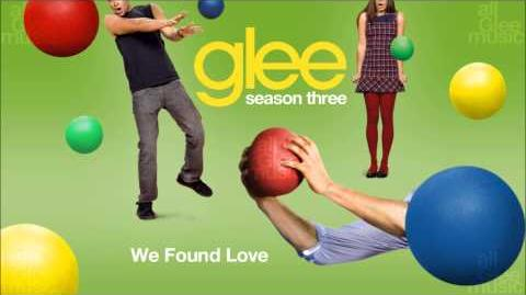 We Found Love Glee HD FULL STUDIO