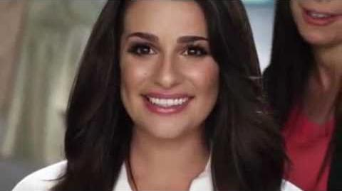 Lea Michele's Dove Commercial
