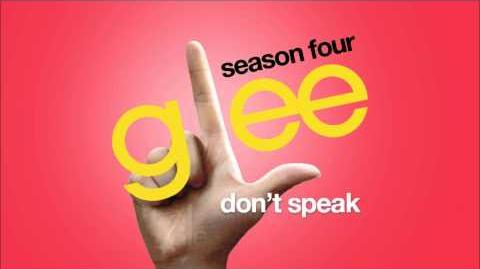 Don't Speak Glee HD FULL STUDIO