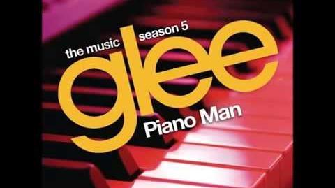 Glee - Piano Man (HQ FULL STUDIO)