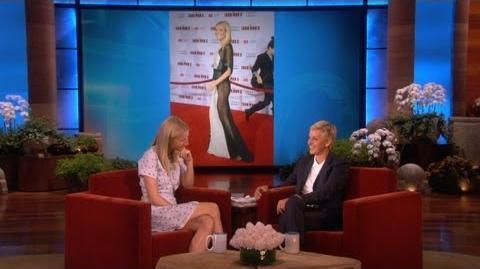 Gwyneth Paltrow on Her Sheer Dress