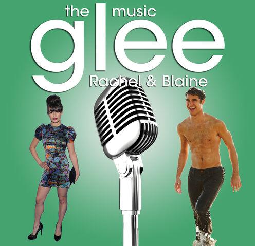 File:Glee- The Music, Rachel & Blaine.jpg