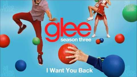 I Want You Back Glee HD FULL STUDIO