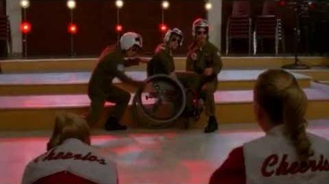 GLEE - Old Time Rock & Roll Danger Zone (Full Performance) (Official Music Video) HD