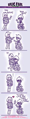 File:Glee Hug Failz by chibiCharlie chan.png