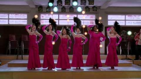"""Diamonds Are A Girls Best Friend Material Girl"" from ""Girls (and Boys) On Film GLEE"