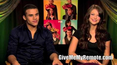 GLEE Jacob Artist and Melissa Benoist Dish on Joining the Fox Series