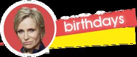 Birthdays Banner