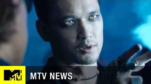 'Shadowhunters' Meet Magnus Bane MTV News