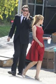 File:Cory and Dianna On Set of Furt.jpeg