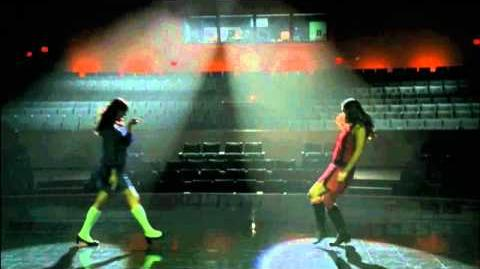 "GLEE - Full Performance of ""Flashdance...What A Feeling"""
