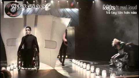 "Lyrics Vietsub GLEE - Full Performance of ""Applause"""