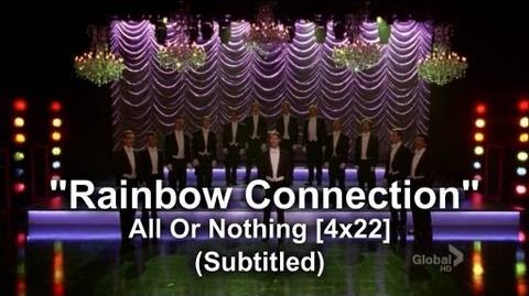 """Glee - Full Performance of """"Rainbow Connection"""" All or Nothing (Subtitled) HQ"""