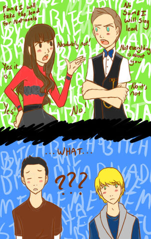 File:Funny Finn.Rachel and Sam.Kurt.jpg