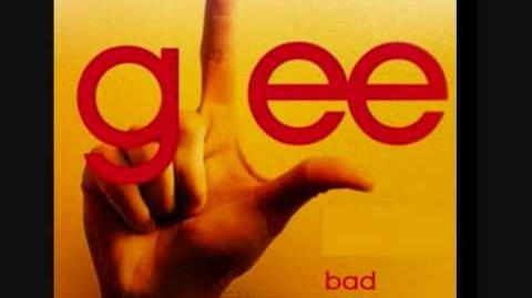 Glee - Bad Romance (HQ LYRICS) FULL!