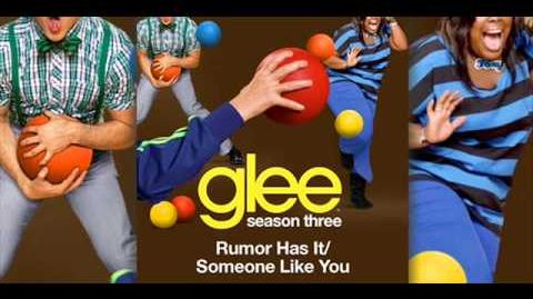 Glee - Rumour Has It Someone Like You (Acapella)