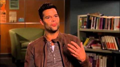 "Glee 3x12 ""The Spanish Teacher"" Behind The Scenes"
