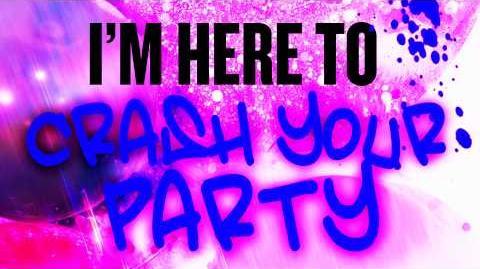 Karmin - Crash Your Party (Lyrics)