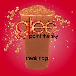 Freak flag slushie
